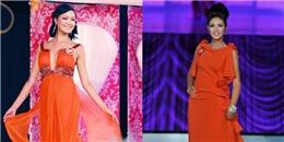 Nhìn lại váy áo trong khoảnh khắc đăng quang của Hoa hậu Việt