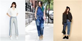 Quần jeans 2 màu: xu hướng mới  cực chất  trong mùa hè