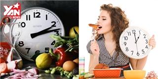 """10 thực phẩm nhất định phải ăn đúng giờ """"hoàng đạo"""""""
