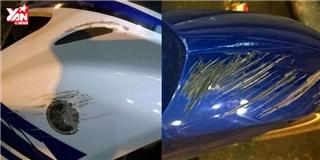 Hô biến  vết trầy xước trên xe máy bằng mẹo cực dễ