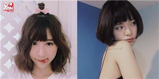 4 kiểu tóc ngắn cực xinh đáng để  xuống kéo  hè này