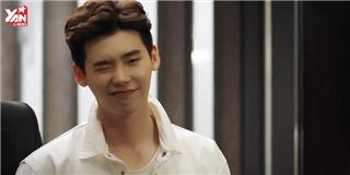 Chỉ cần đá lông nheo, Lee Jong Suk khiến rating  banh nóc