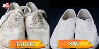 Hỗn hợp  kì diệu  giúp giày bạn trắng sáng như mới