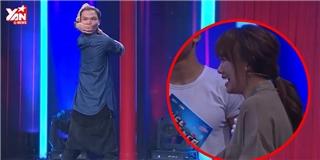 Màn bẻ cổ 180 độ của chàng trai trẻ khiến Hari Won sợ hãi