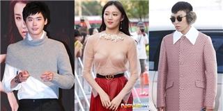 Thời trang xấu hổ chỉ muốn độn thổ của sao Hàn