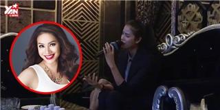 Mệt mỏi vì dư luận, Phạm Hương đi karaoke hát  hit  của Hồ Ngọc Hà