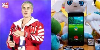 Justin Bieber cải trang chạy rần rần ngoài đường bắt...Pokemon