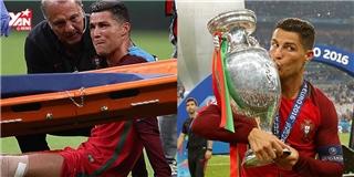 Những khoảnh khắc đáng nhớ của CR7 trong đêm chung kết Euro 2016