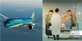 Xúc động Vietnam Airlines hoãn chuyến bay 80 phút để cứu người