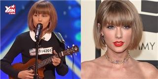 Taylor Swift phiên bản mini  khiến cả nước Mỹ sững sờ