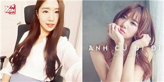 Hot girl Hàn cover  Anh cứ đi đi  siêu dễ thương và ngọt ngào
