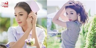 Cộng đồng mạng điêu đứng vì cô y tá xinh đẹp, quyến rũ nhất xứ Thái
