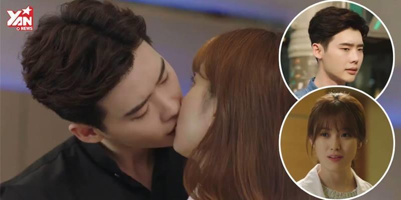"""Nụ hôn trong phim mới của Lee Jong Suk khiến fan """"khó thở"""""""