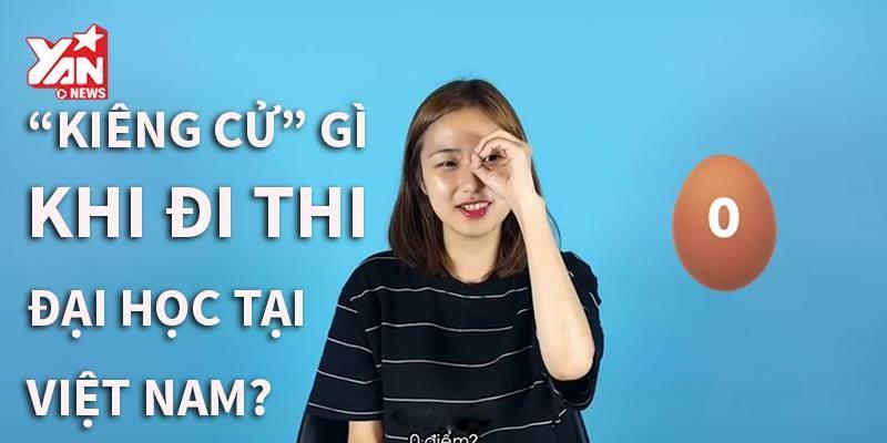 Gái Hàn nói gì về kì thi đại học ở Việt Nam?