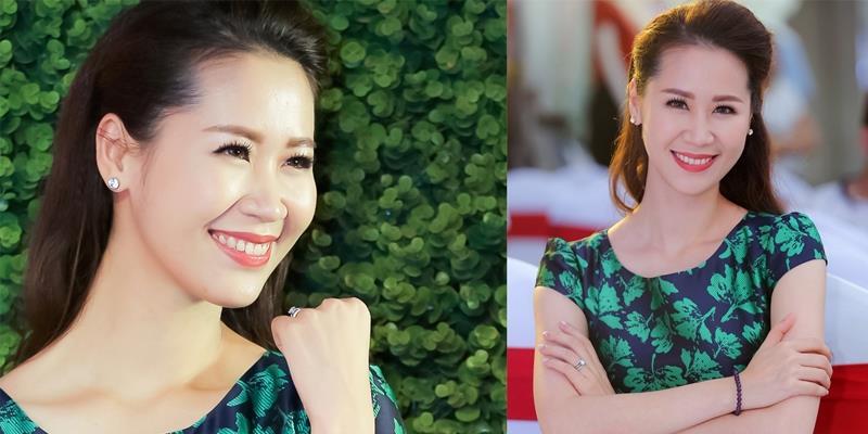 """Hoa hậu Dương Thùy Linh rạng rỡ trở lại showbiz sau thời gian """"ở ẩn"""""""