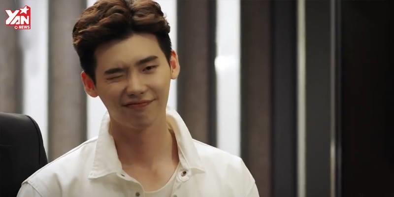 """Chỉ cần đá lông nheo, Lee Jong Suk khiến rating """"banh nóc"""""""