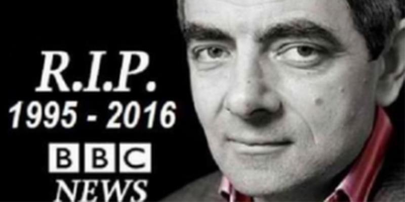 """Sự thật phía sau thông tin """"Mr Bean"""" Rowan Atkinson tự sát"""