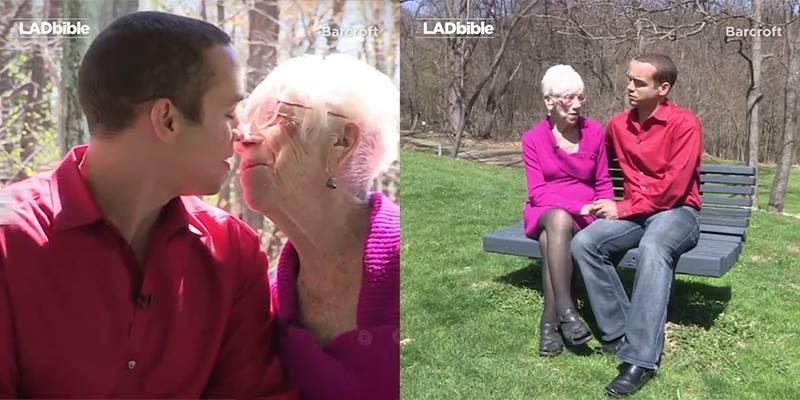 Sốc với tình yêu của người đàn ông 31 tuổi và cụ bà 90