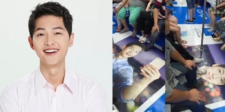 yan.vn - tin sao, ngôi sao - Fan phẫn nộ đe dọa nhãn hàng vì Song Joong Ki bị dẫm lên mặt