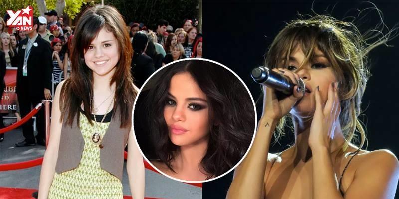 """""""Phong độ"""" nhan sắc thất thường của Selena Gomez"""