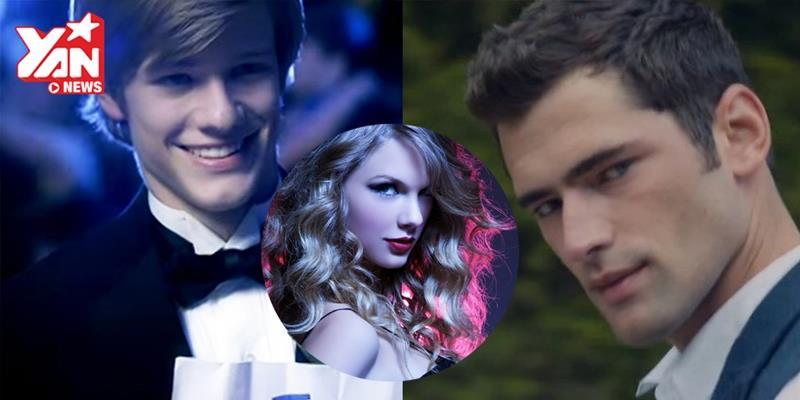 """""""Bộ sưu tập hot boy"""" hoành tráng của Taylor Swift trong các MV"""