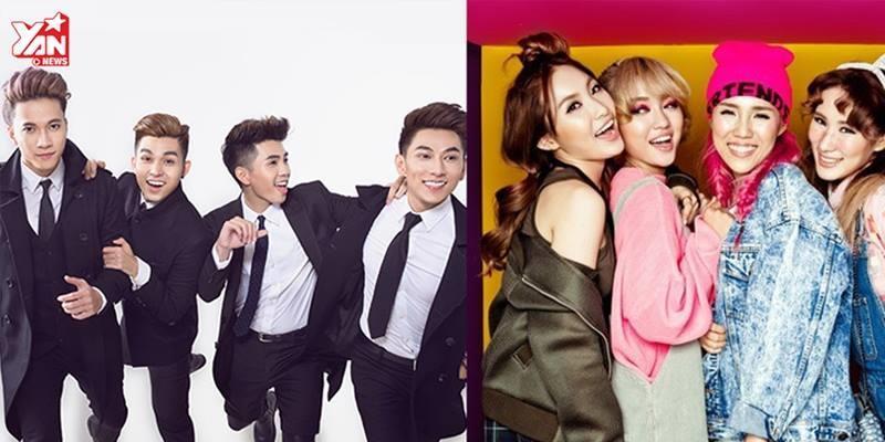 """""""Bắt chước"""" Kpop, nhóm nhạc Việt đang mất dần bản sắc?"""