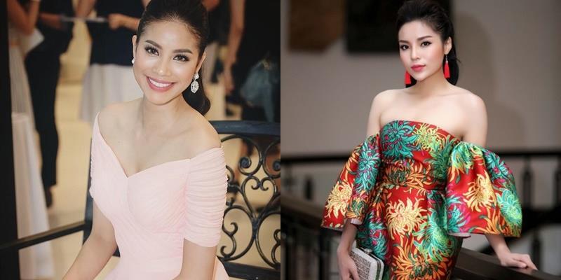 """Nhan sắc mĩ nhân Việt nào """"ngọt"""" nhất khi mặc váy áo trễ vai?"""