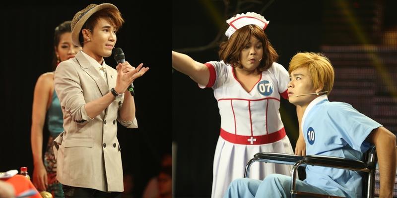 Huỳnh Lập xin lỗi thí sinh trên sóng truyền hình vì sai lầm của mình