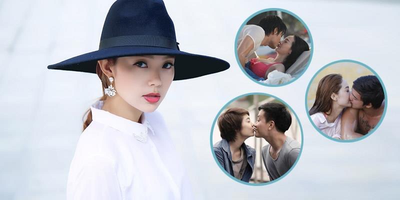 yan.vn - tin sao, ngôi sao - Minh Hằng tiết lộ bí mật về những nụ hôn nóng bỏng