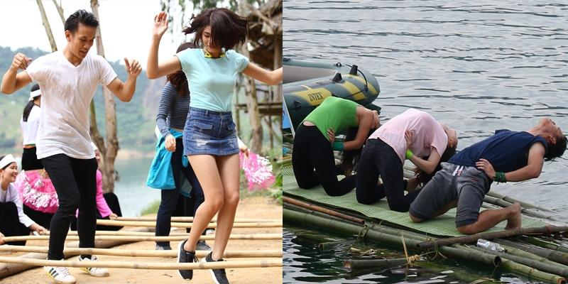 Lincoln Thúc Lĩnh nhảy sạp, tập yoga cùng hotgirl giữa hồ Thung Nai