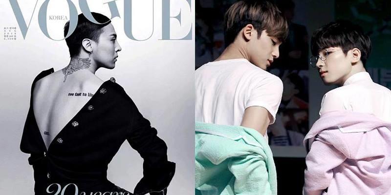 """Những tấm lưng quyến rũ khiến fan """"khó thở"""" của thần tượng Kpop"""