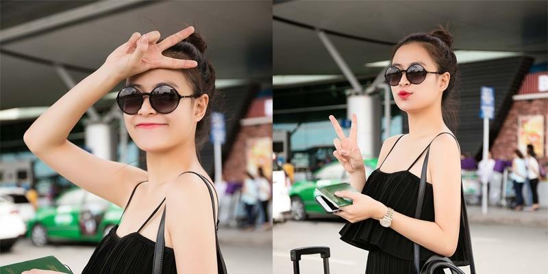 yan.vn - tin sao, ngôi sao - Hoàng Thùy Linh giản dị với dép lê, áo hai dây