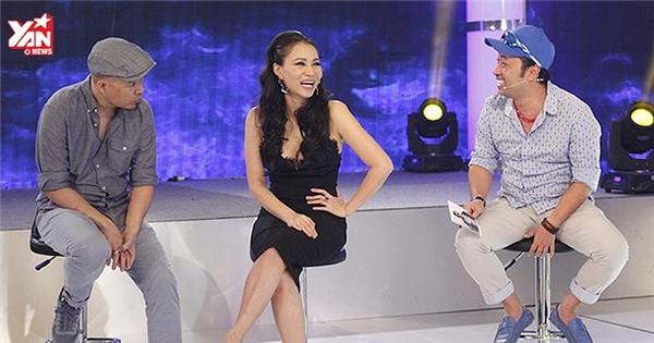 Thu Minh 'xúi' thí sinh... bịa lời bài hát khiến Huy Tuấn hoảng hốt