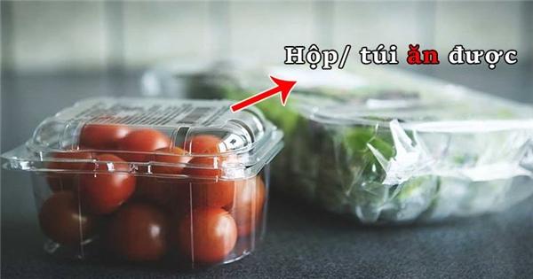 Túi nilon ăn được, phát minh này là tương lai của chúng ta