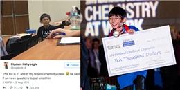 Sinh viên đại học Mỹ xấu hổ vì phải học cùng thần đồng 11 tuổi