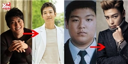 Bất ngờ với quá khứ cân nặng như 'khủng long' của loạt mĩ nam Kpop