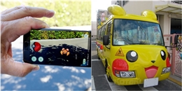 Để an toàn, giới trẻ Việt rần rần săn Pokemon bằng... ô tô đưa đón