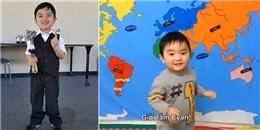 Không chỉ là thần đồng piano, bé Evan Lê còn là 'thiên tài' địa lí