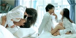 """Bộ ảnh cưới """"giường chiếu' của cặp đôi Thái Lan gây sốc... tới nóc"""