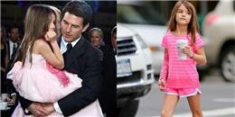 Suri đã trưởng thành như thế nào khi bị bố Tom Cruise lạnh nhạt?