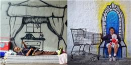 Cảm động người họa sĩ vẽ lên mơ ước của người nghèo
