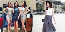 Là bà mẹ 2 con, Lưu Hương Giang sành điệu còn hơn hot girl 9X