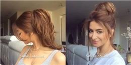 Hãy làm theo cô gái này để có 3 kiểu tóc dày cực đẹp
