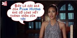 Lan Khuê cảm thấy hả hê khi đội Phạm Hương thua cuộc?