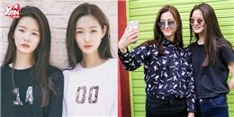 Đôi người mẫu song sinh 16 tuổi nhà YG khiến fan Kpop rần rần