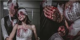 Bộ ảnh cưới ma đáng sợ gây sốt cộng đồng mạng