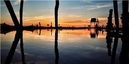 Ngắm cảnh sắc đẹp ngút ngàn tầm mắt nơi biển Đồng Châu