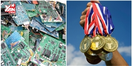 Nhật Bản dự định dùng điện thoại cũ chế tạo huy chương Olympic 2020