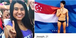 Từ chối Joseph Schooling, đây là cô gái 'ôm nỗi hận' lớn nhất thế giới