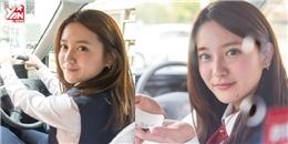 Cận cảnh nữ tài xế taxi xinh đẹp và gợi cảm nhất Nhật Bản